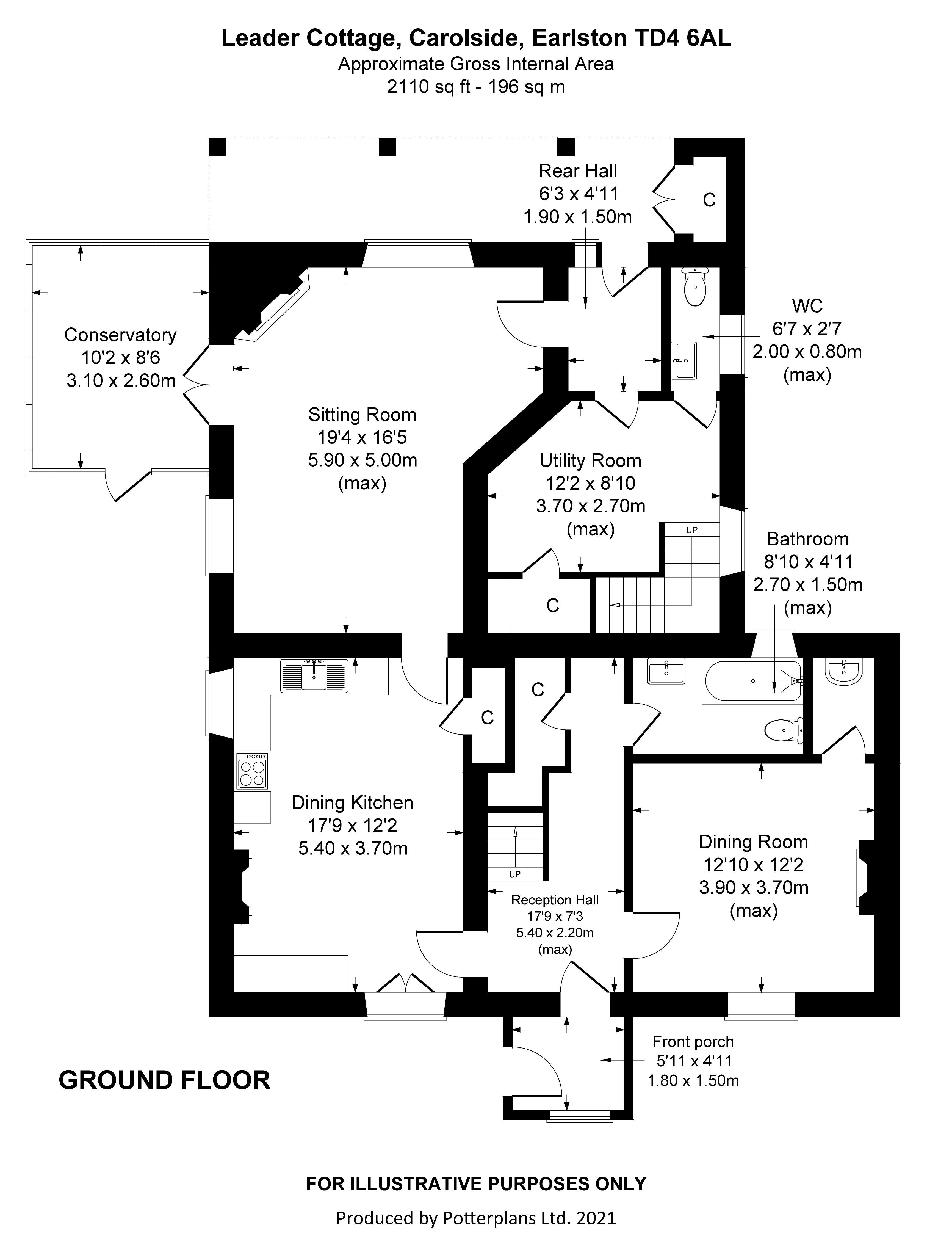 Leader Cottage Ground Floor