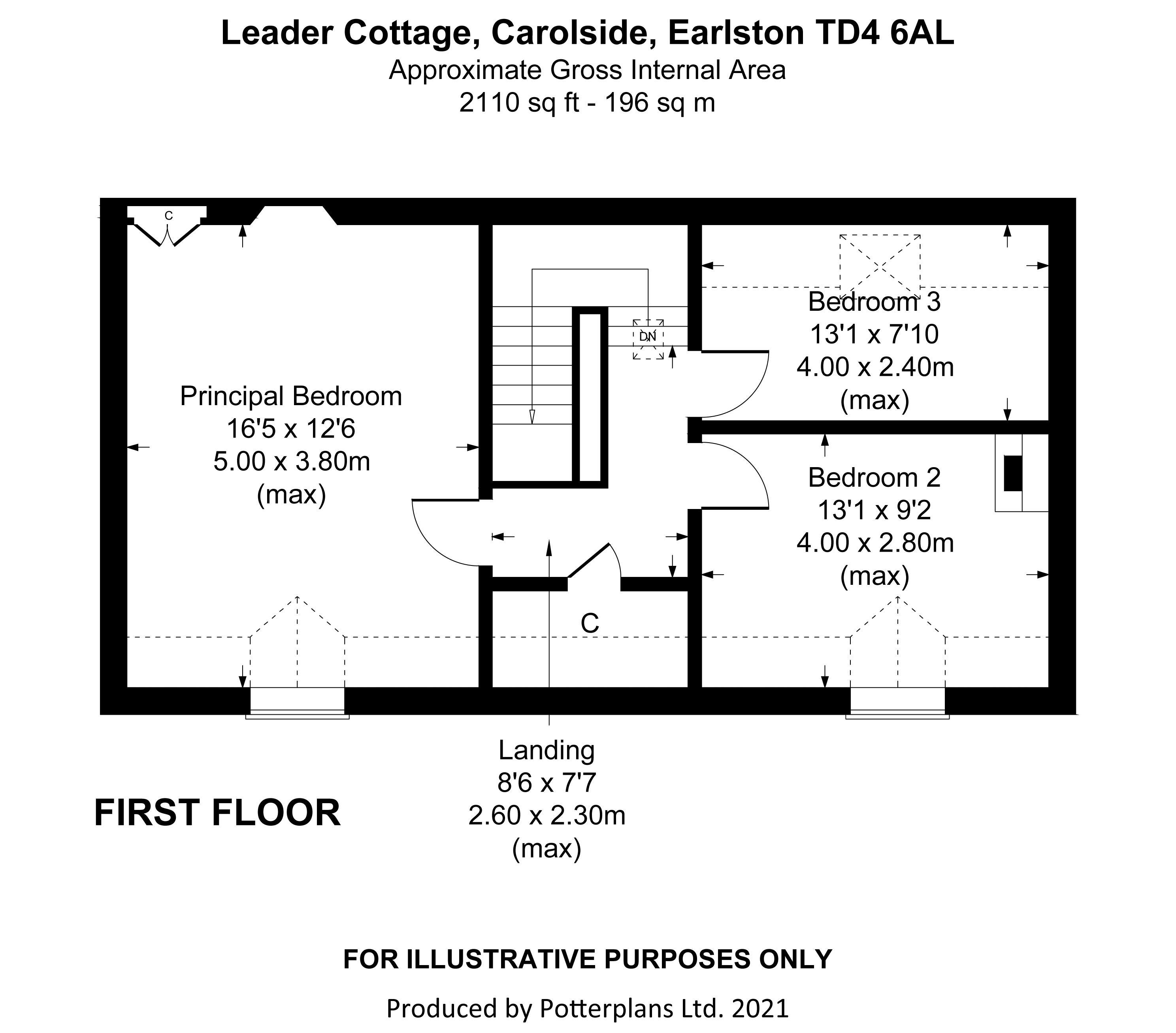 Leader Cottage First Floor