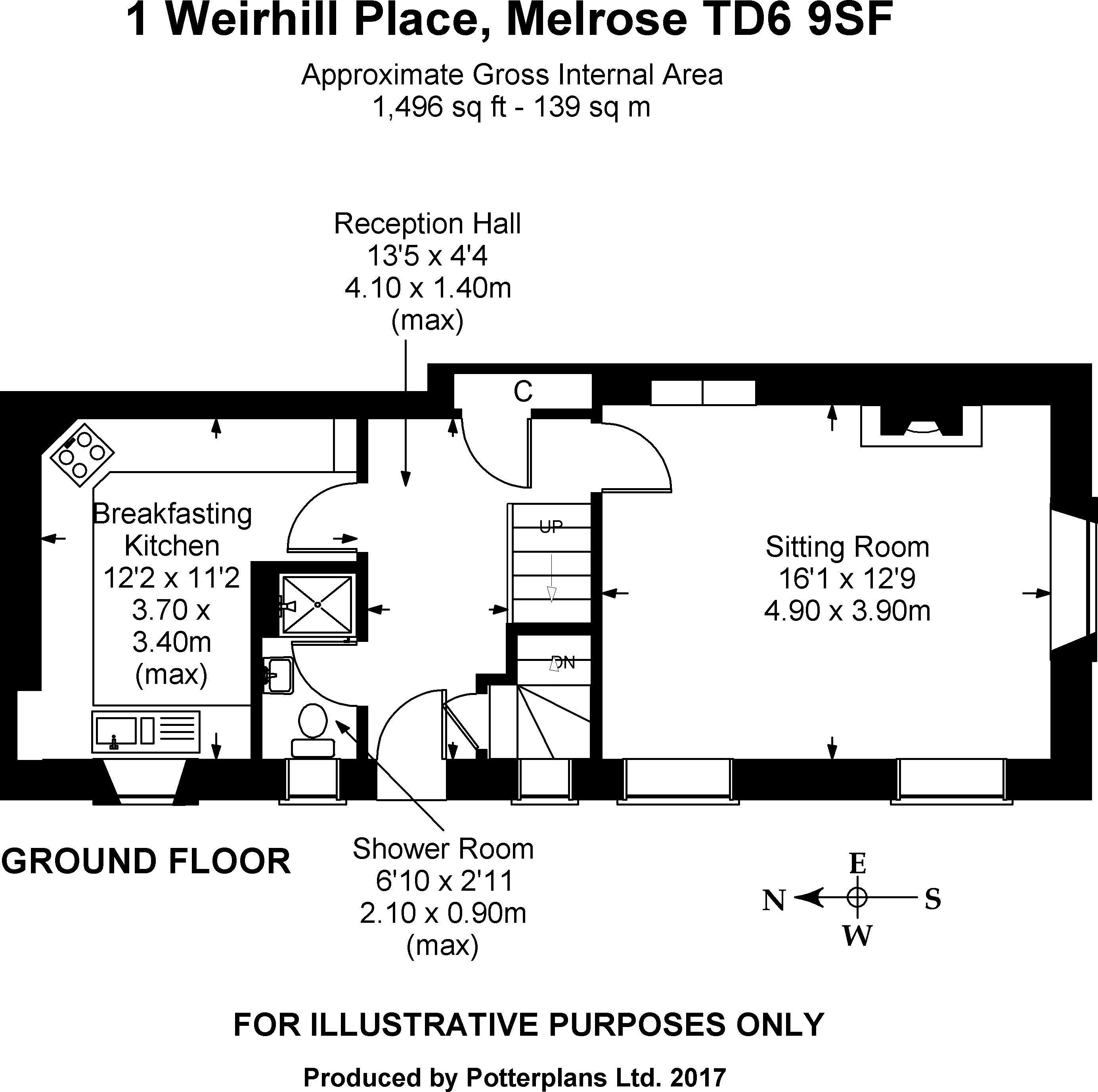 1 Weirhill Place Ground Floor