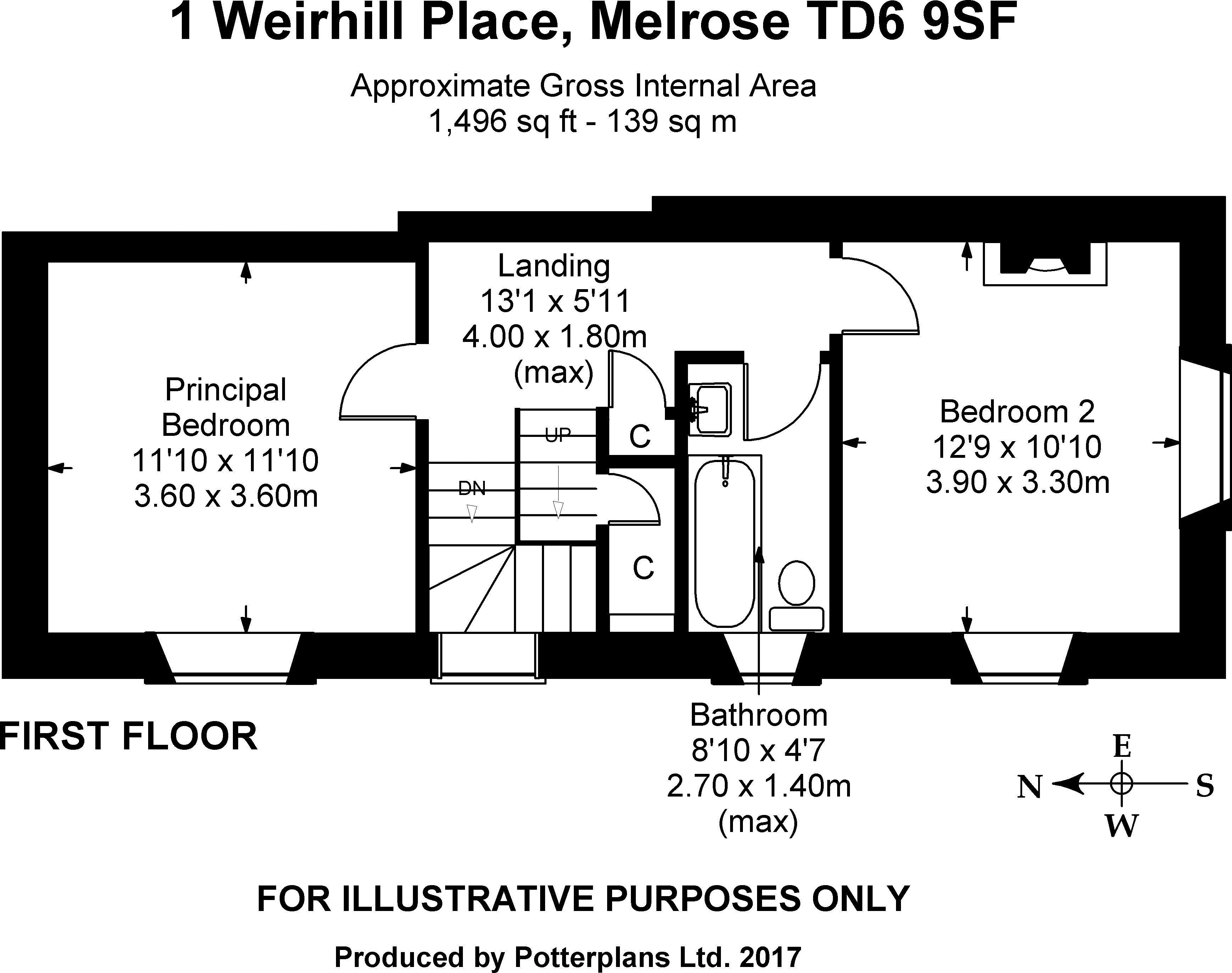 1 Weirhill Place First Floor