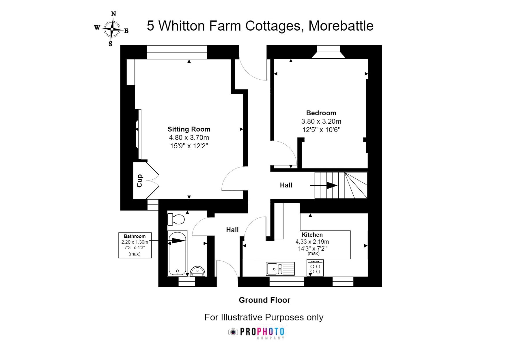 5 Whitton Farm Cottages Ground Floor
