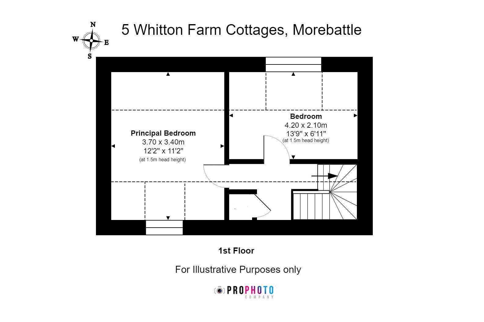 5 Whitton Farm Cottages First Floor