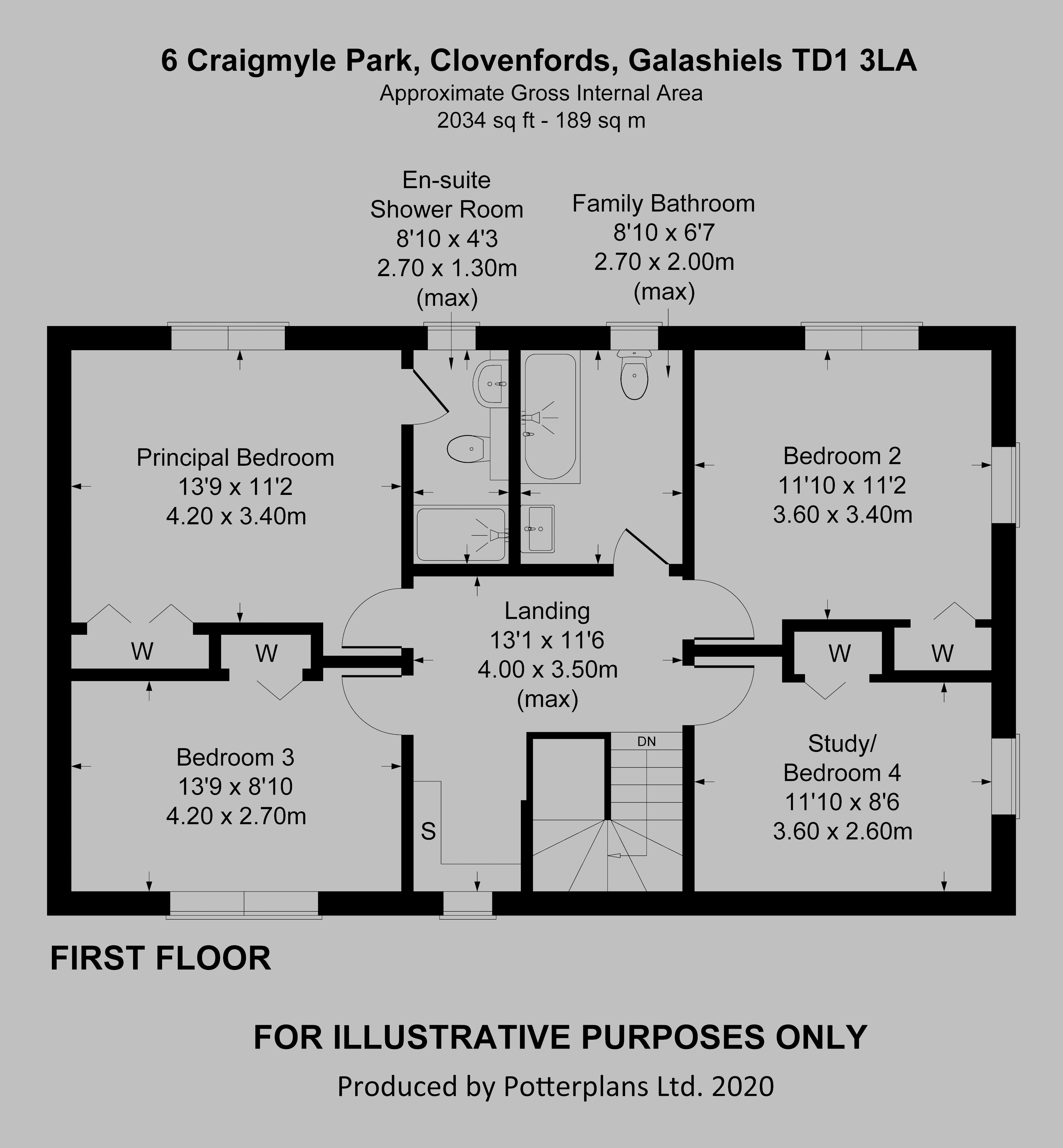 6 Craigmyle Park First Floor
