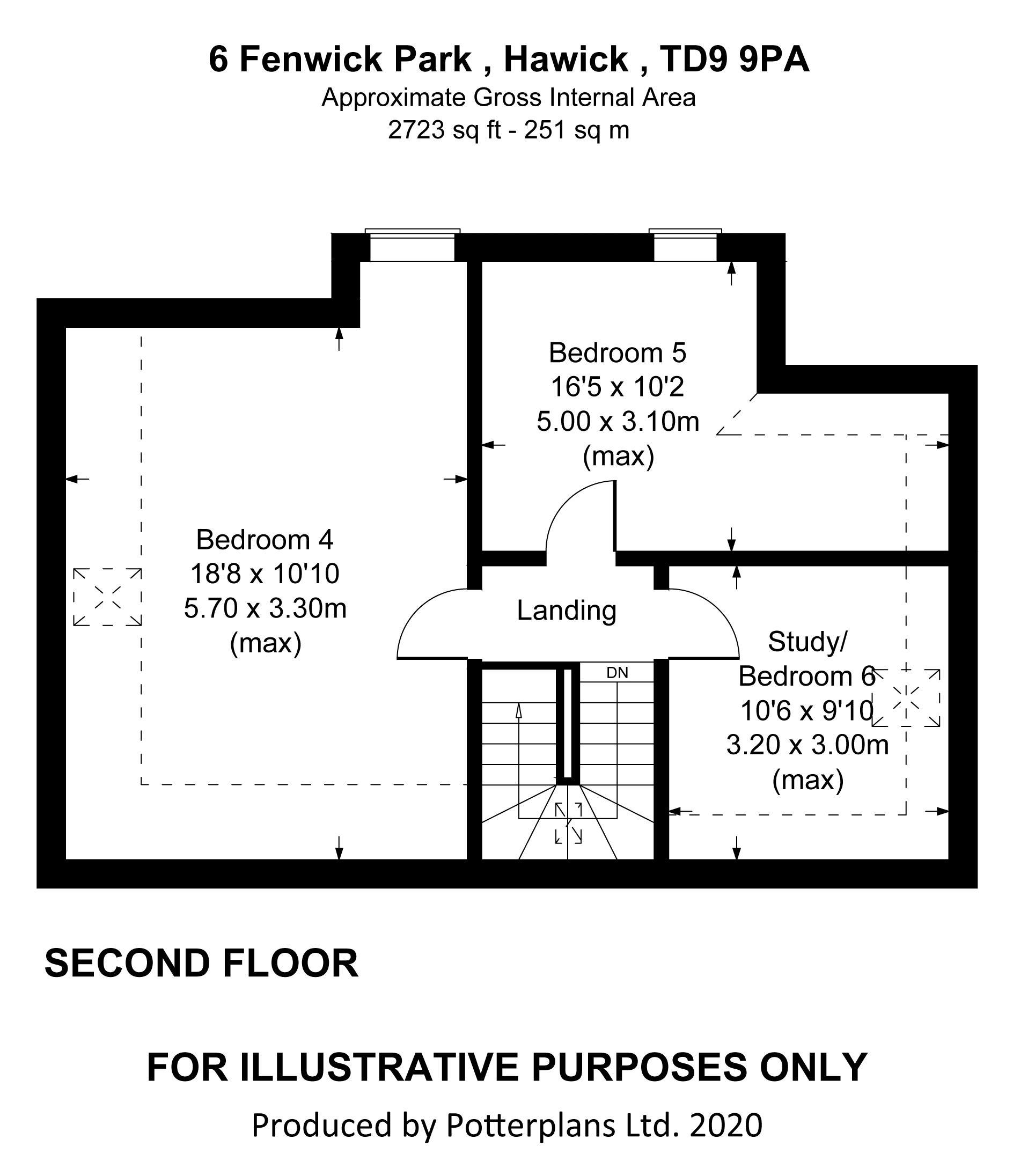 6 Fenwick Park Second Floor