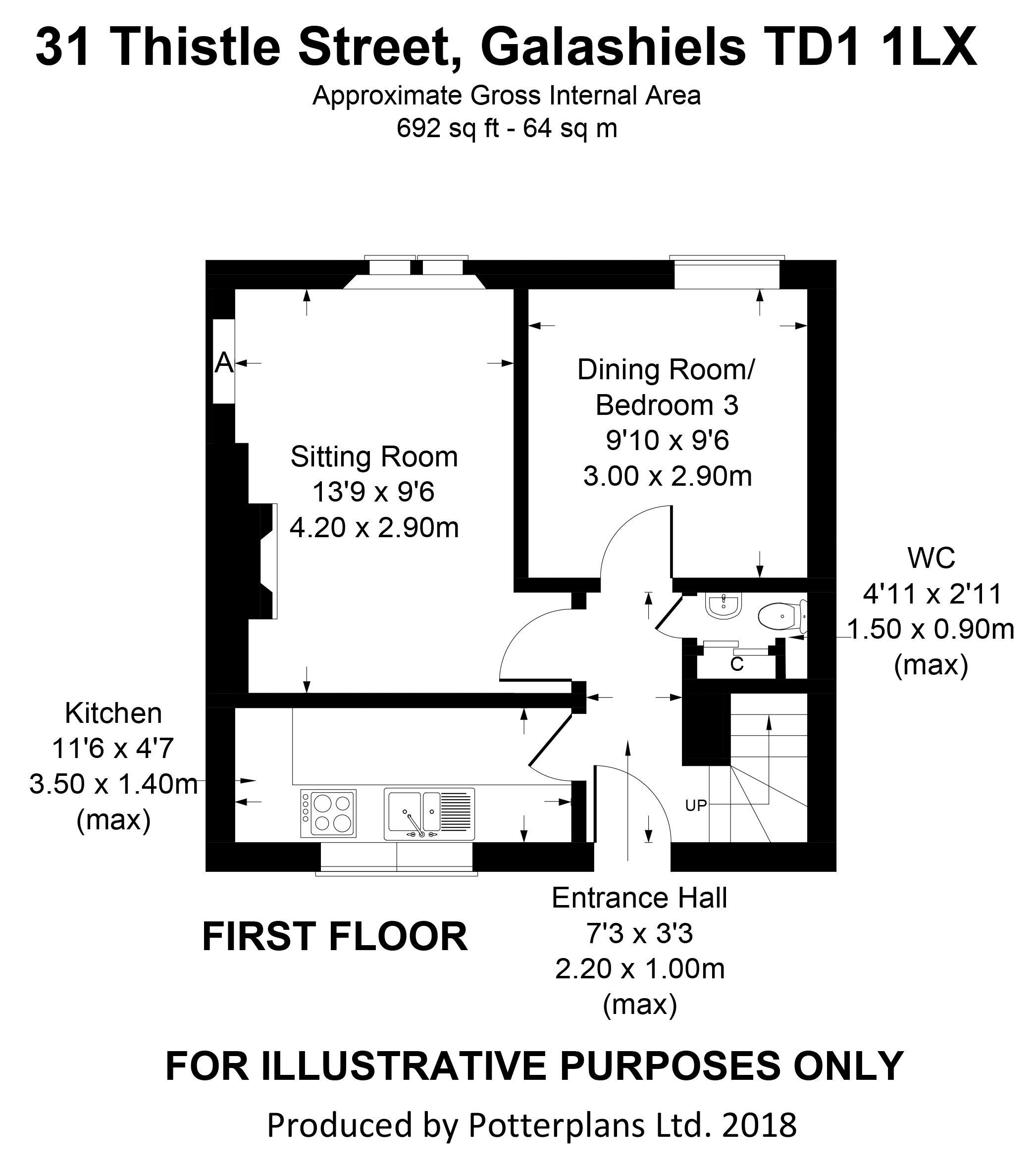 31 Thistle Street First Floor