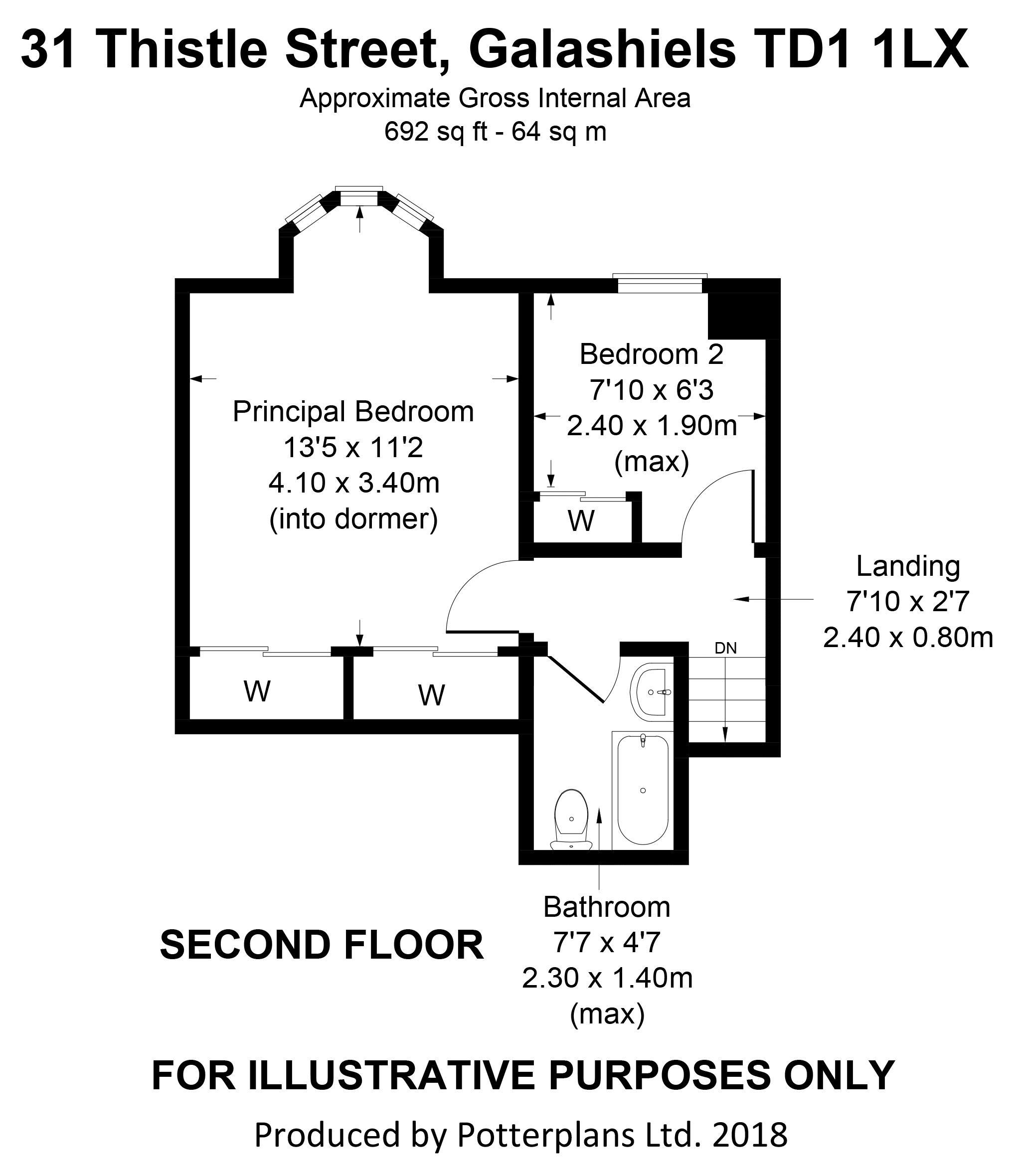 31 Thistle Street Second Floor