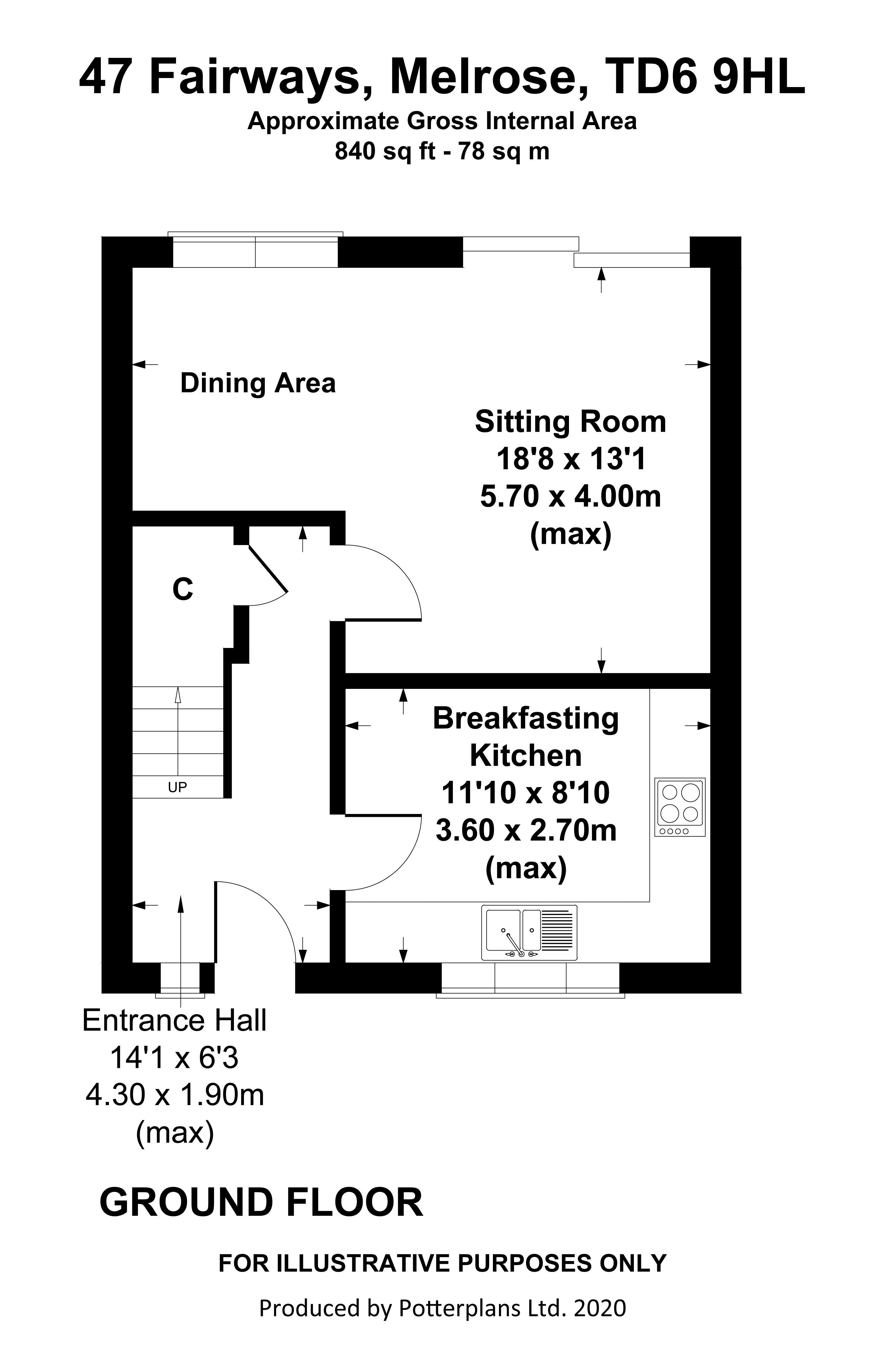 47 Fairways Ground Floor