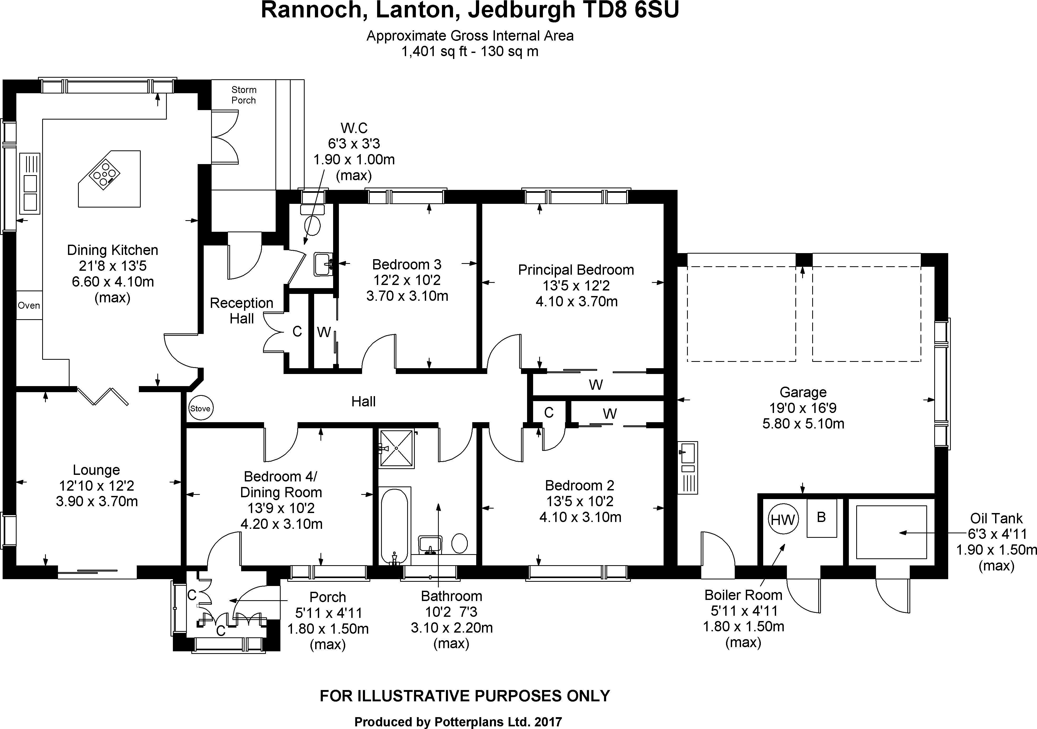 Rannoch Floor Plan