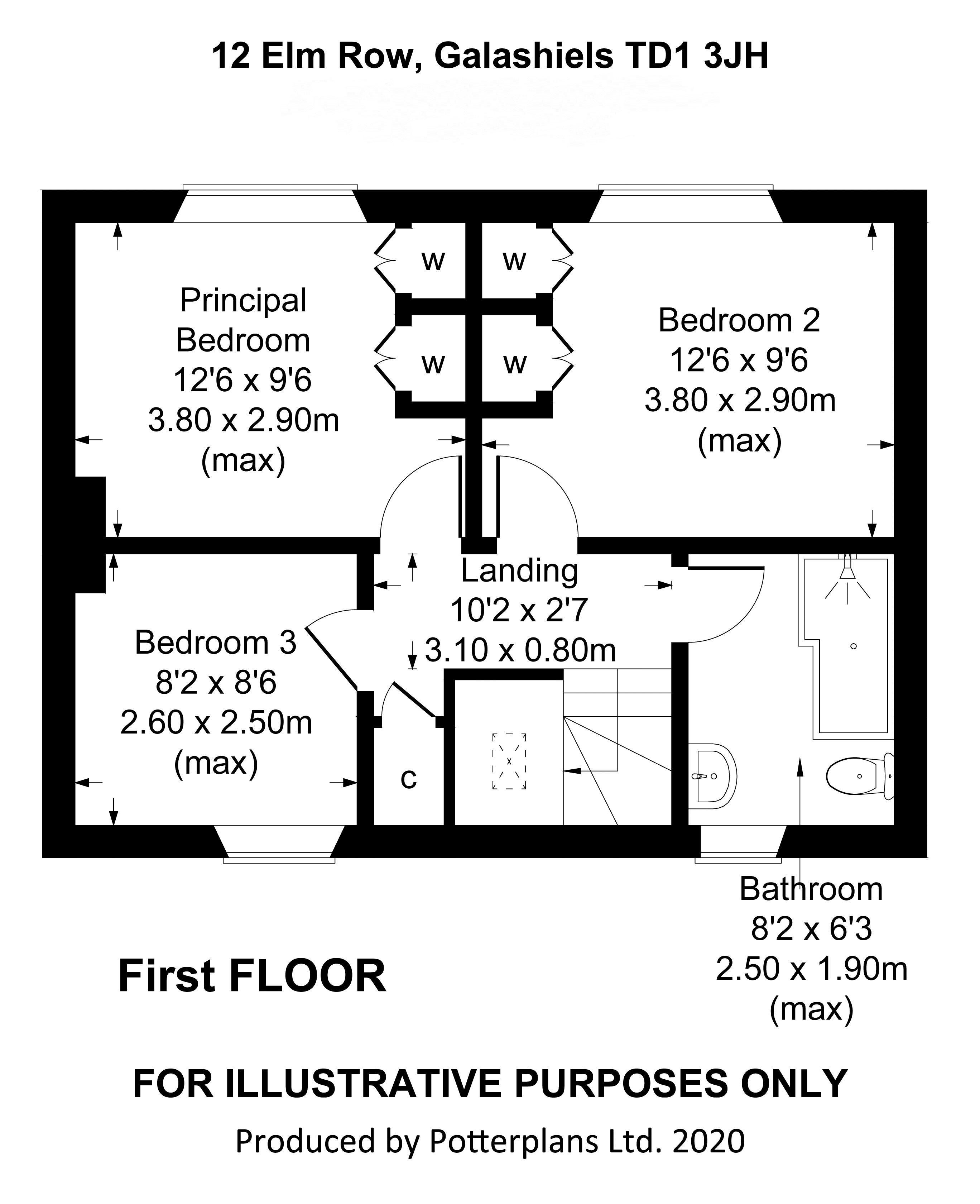 12 Elm Row First Floor