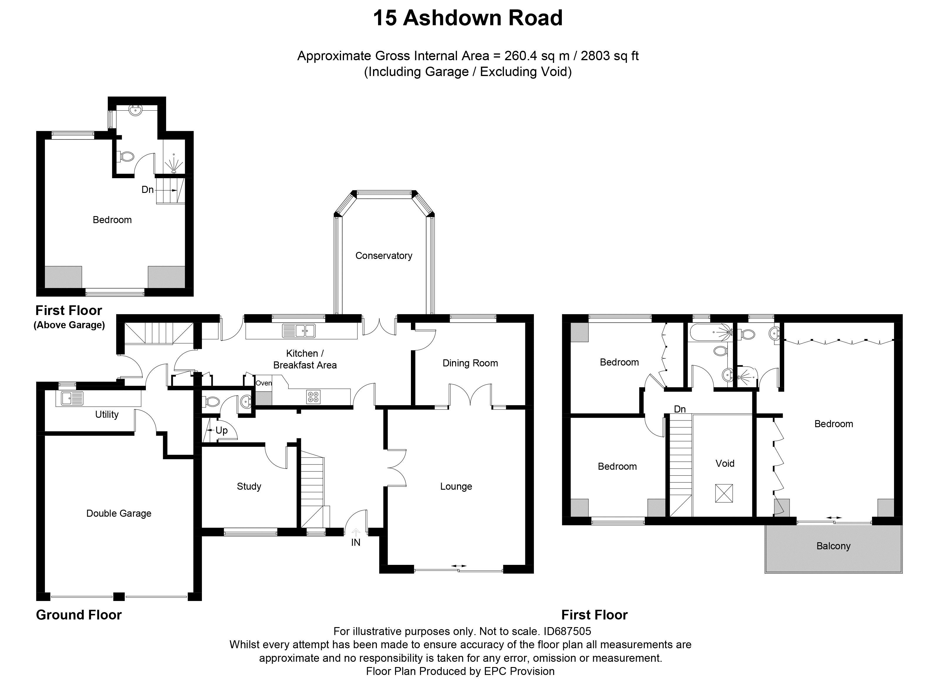 15 Ashdown Road