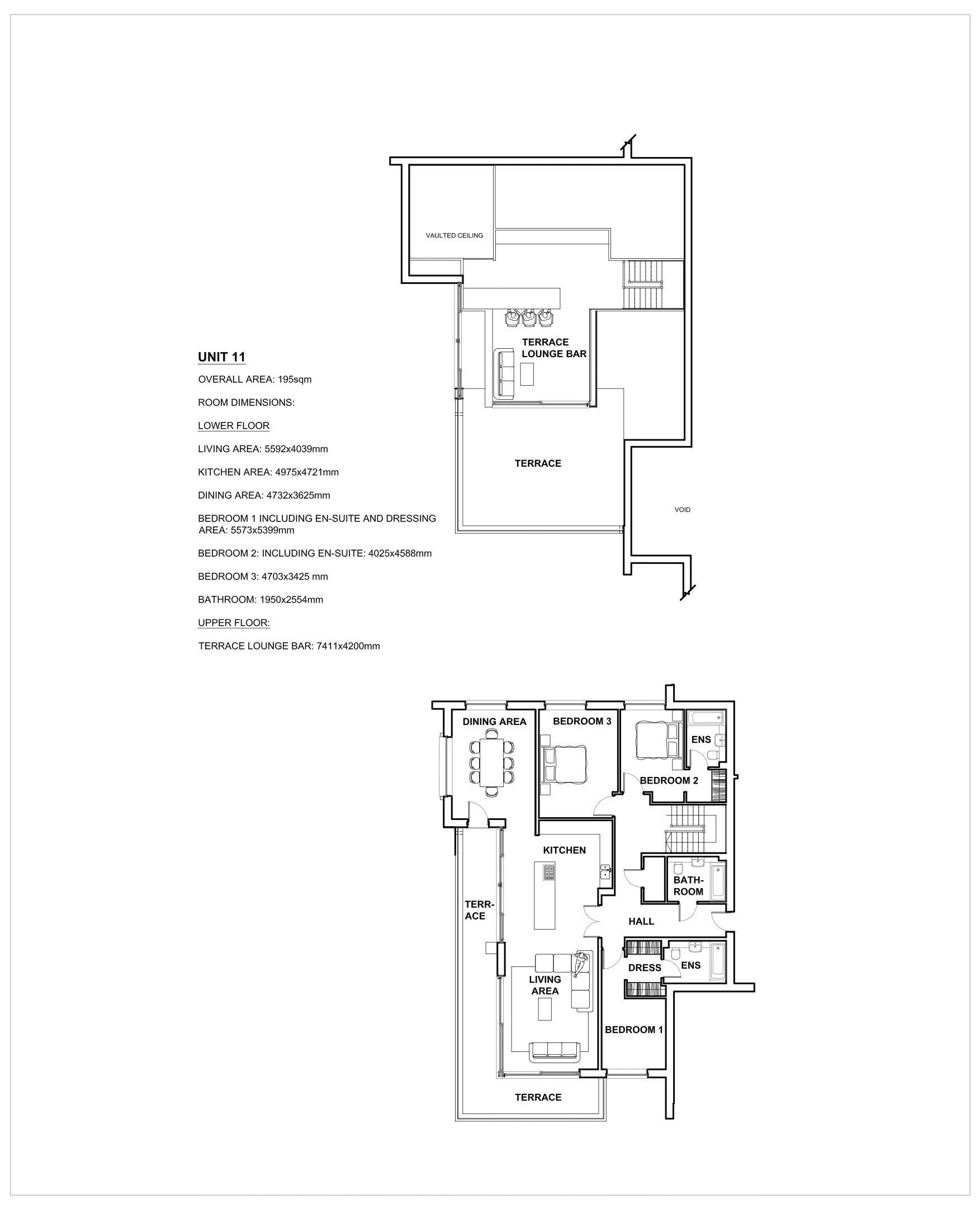 Duplex Penthouse Apartment 11
