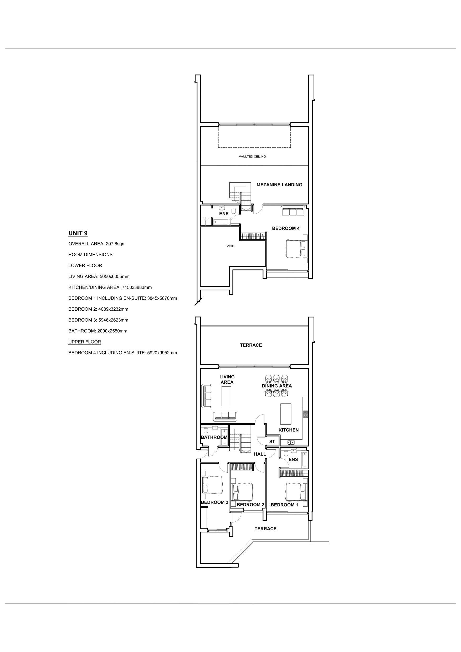 Duplex Penthouse Apartment 9