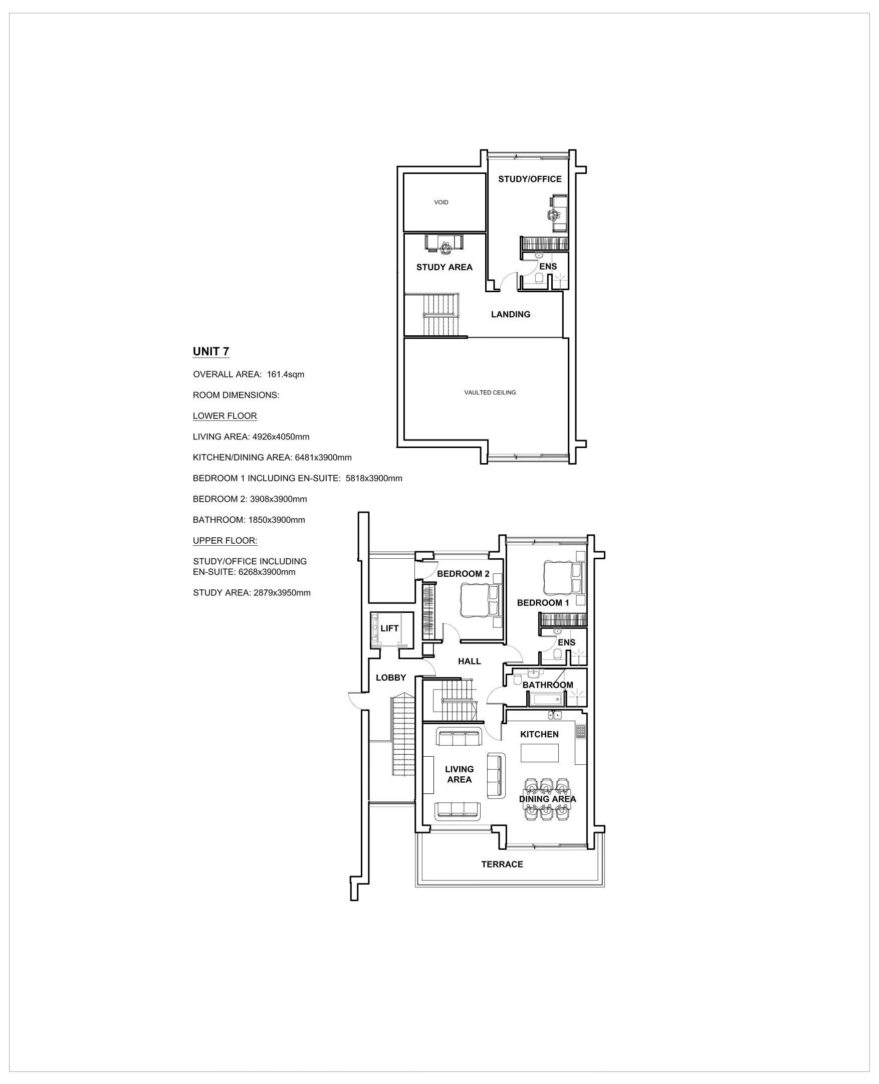 Duplex Penthouse Apartment 7