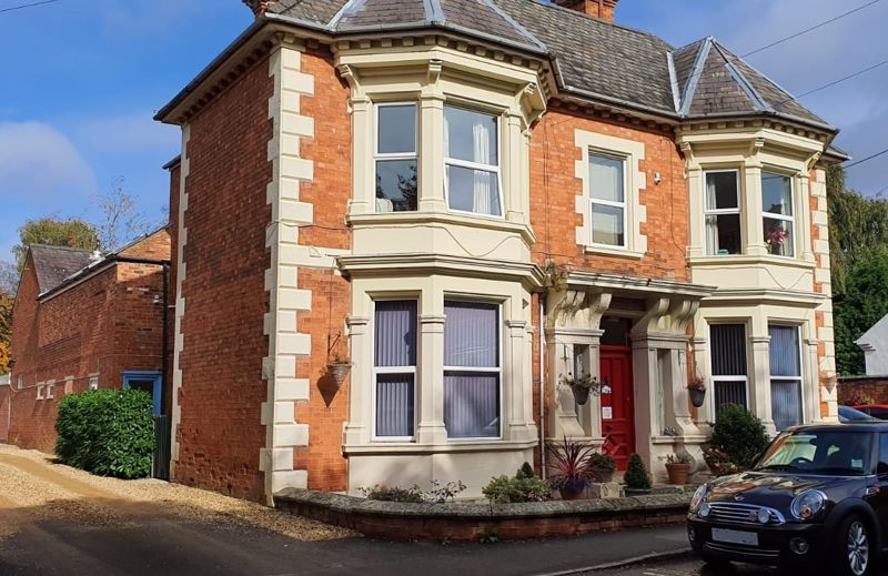 Residential care home in affluent market town.