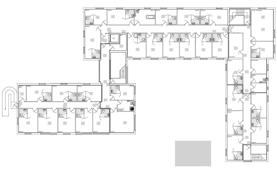 NGA 858 First Floor