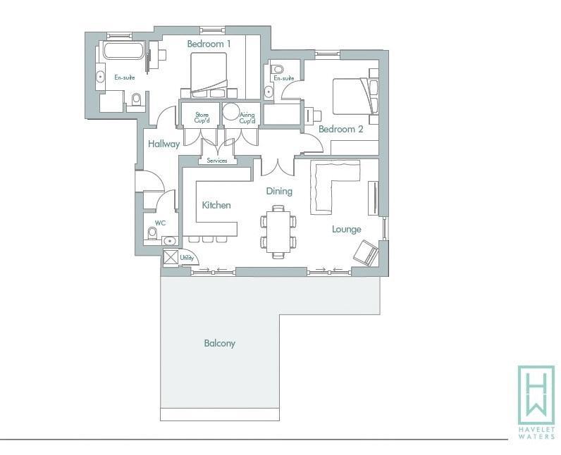 11 Carrick House, Havelet Waters South Esplanade