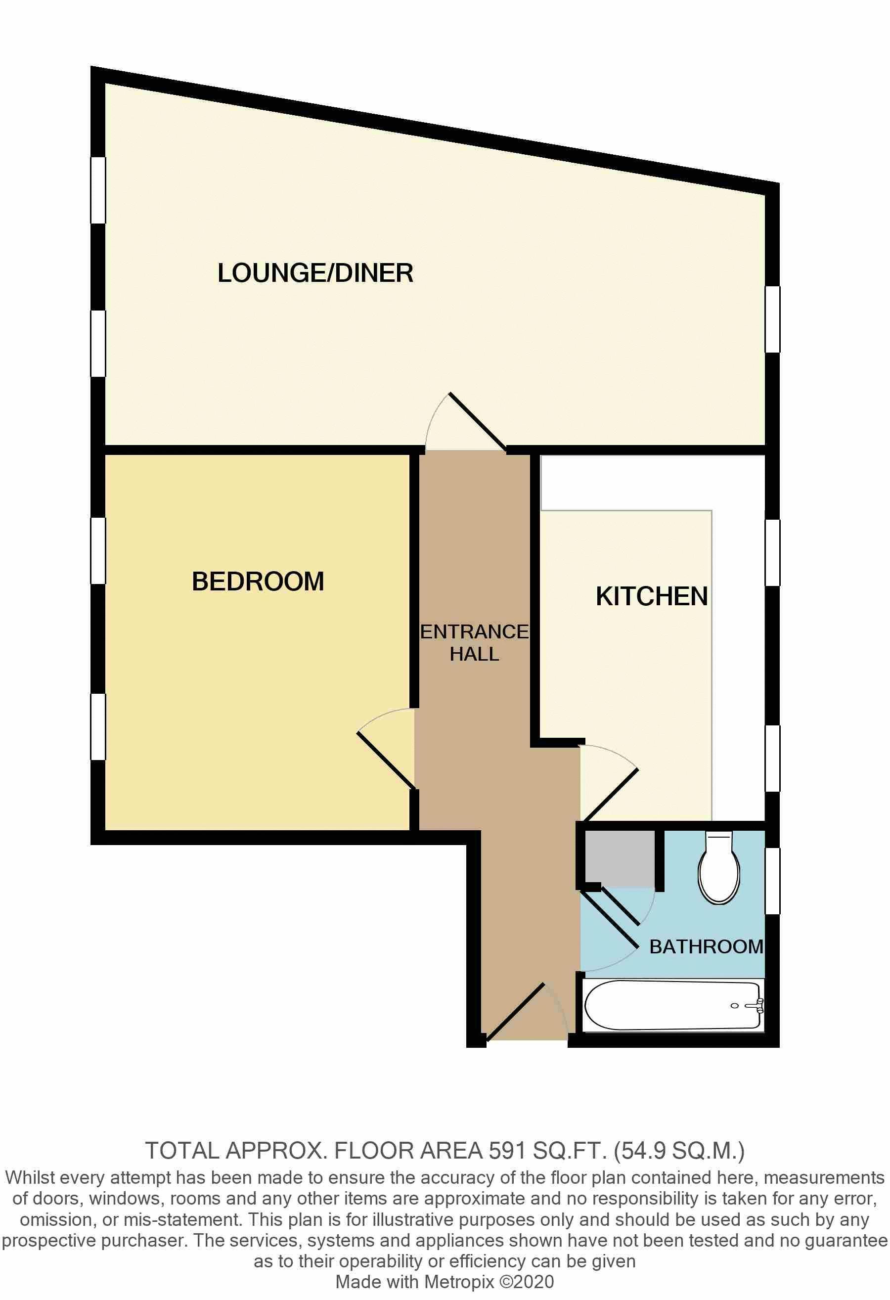 Flat 1, Lyric House, New Street