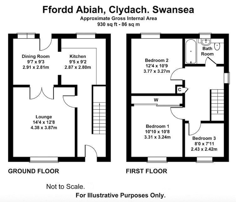 Ffordd Abiah, Clydach