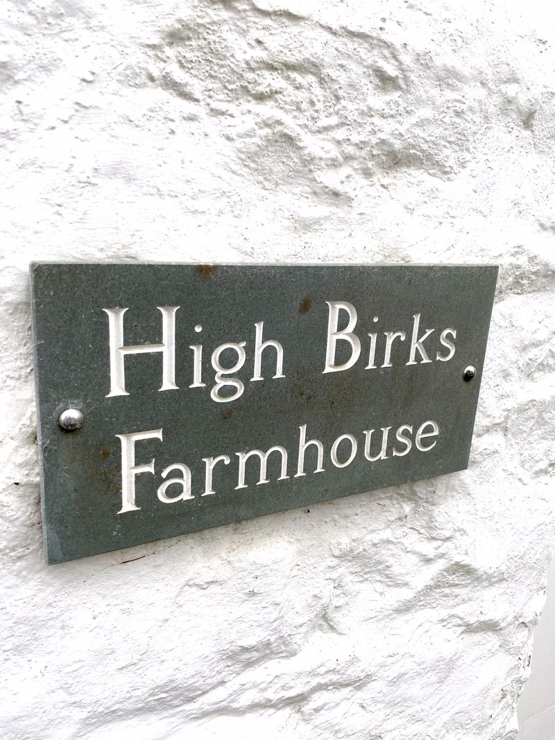 High Birks Farmhouse