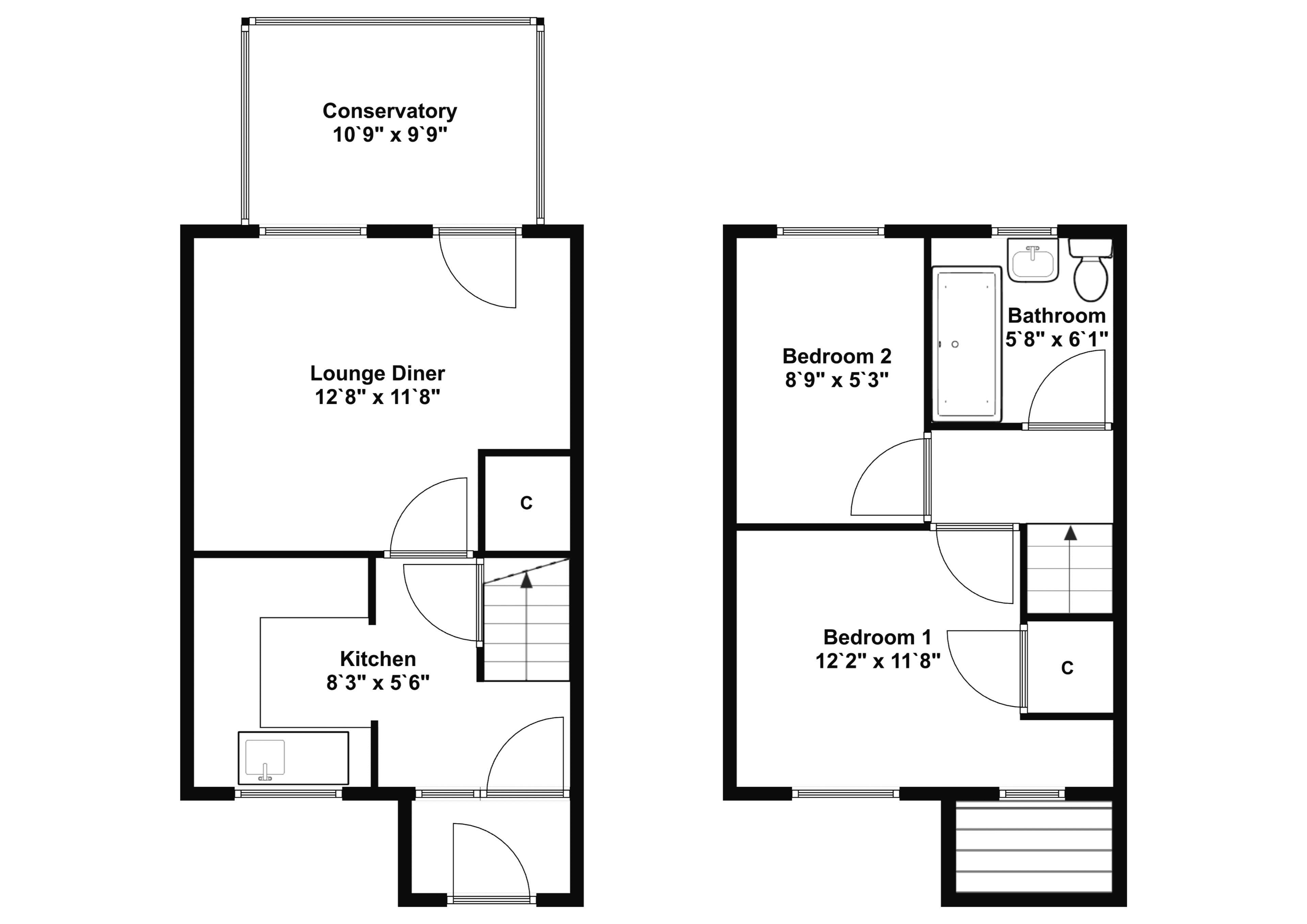 Floorplan 24 Woodside Avenue