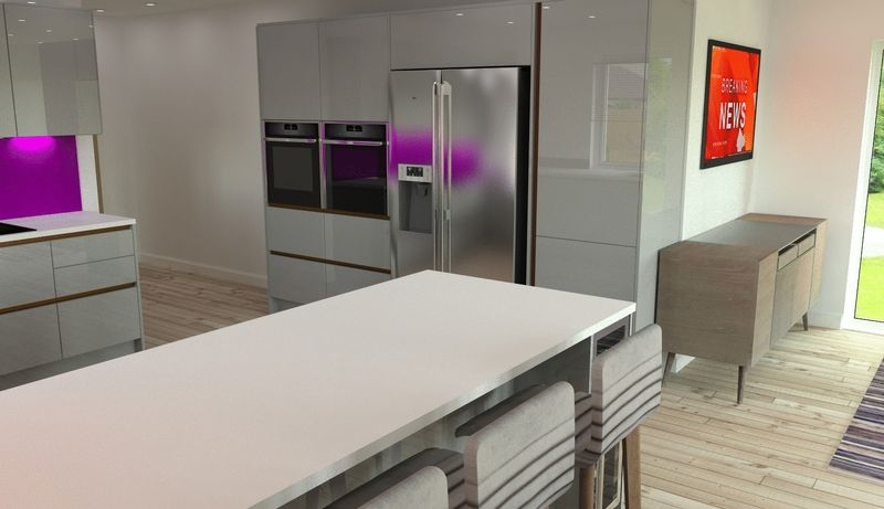 Proposed Open Plan Kitchen