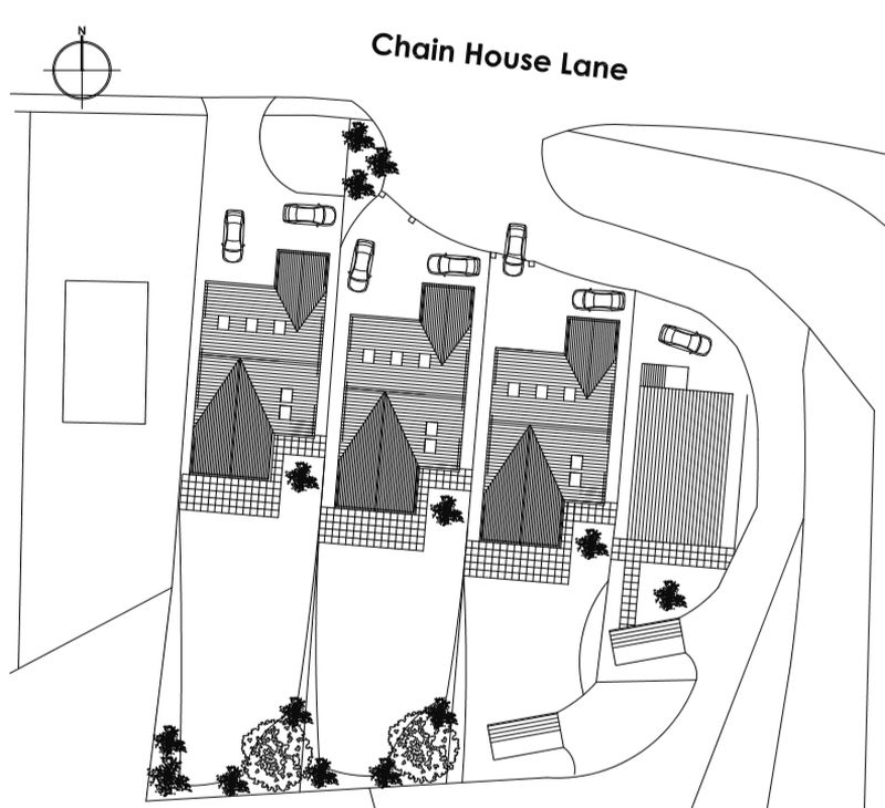 Chain House Lane Whitestake