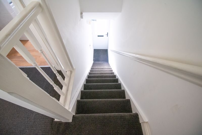 Stairwell to the flat