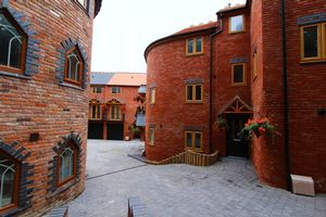 The Old Mill Courtyard
