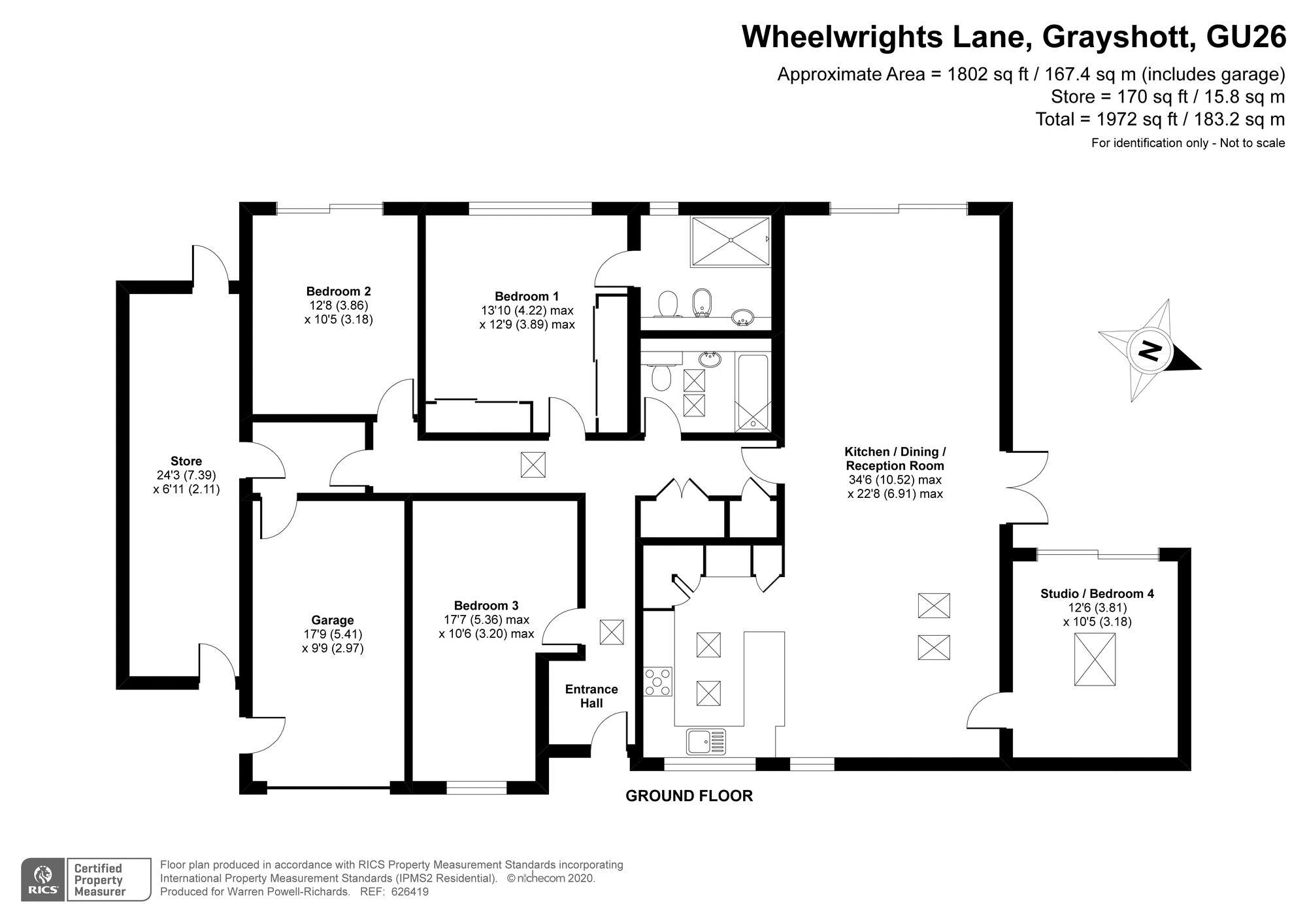 Wheelwrights Lane Grayshott