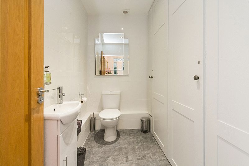 Cloakroom WC & Concealed Utility