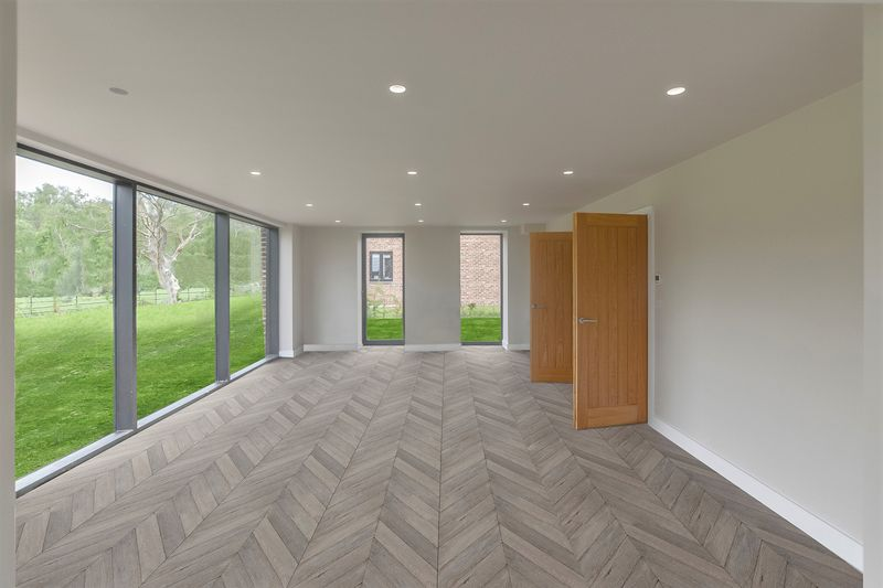 Living Space with example CGI Flooring