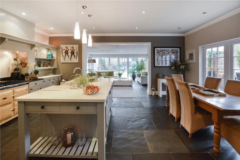 Beautiful Kitchen and Living Space