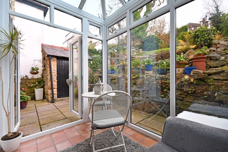 Conservatory onto Patio