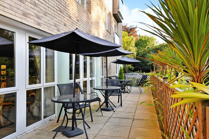 Outdoor Terrace adjoining Dining Room