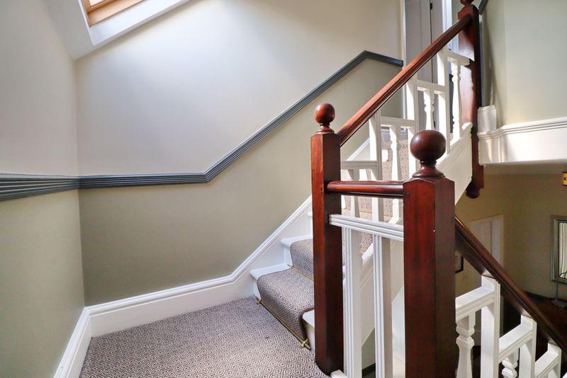 Second Floor Stairway