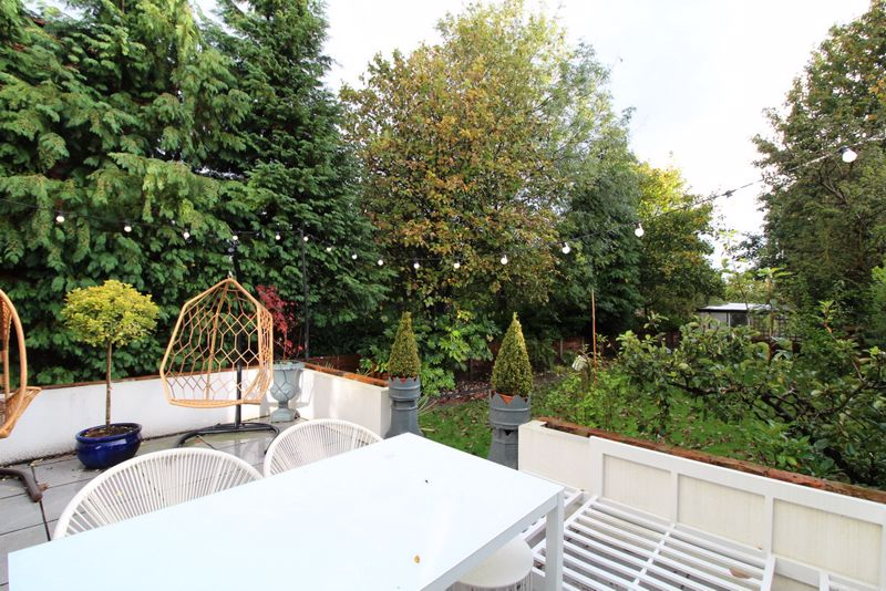 Rear Terrace & Garden