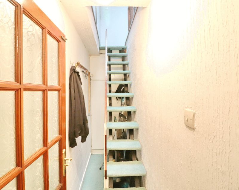 Staircase To Converted Loft
