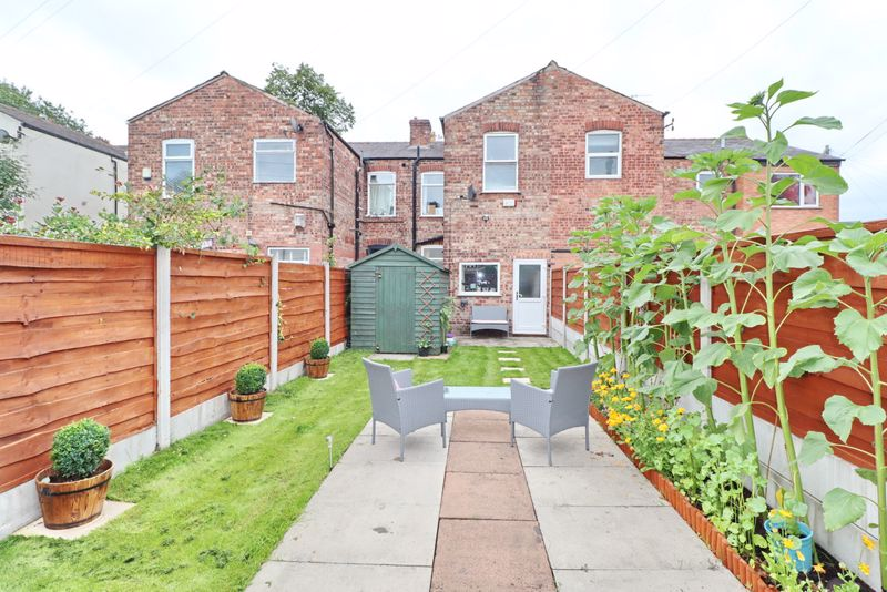 Rear Garden and Drive