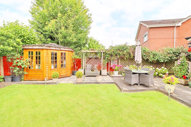 Patio and Summer House