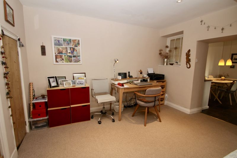 Study area of the sitting room