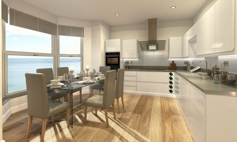 CGI example of kitchens