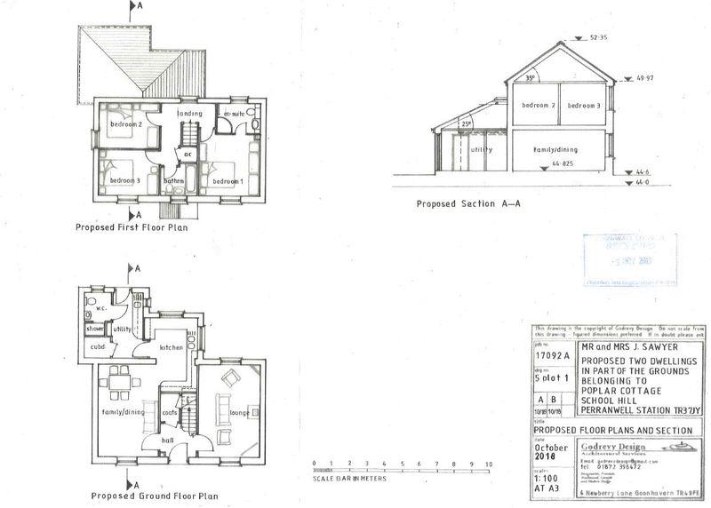 Plot 1 proposed