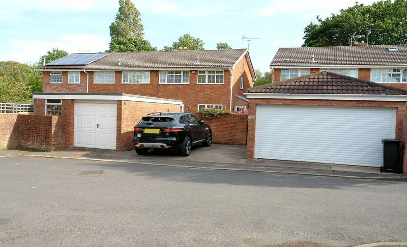 Extended garage and drive