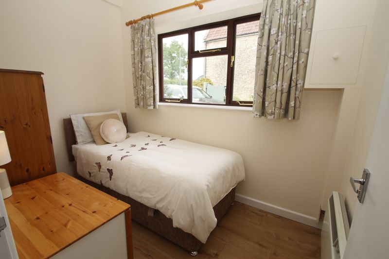 Bedroom in the annexe