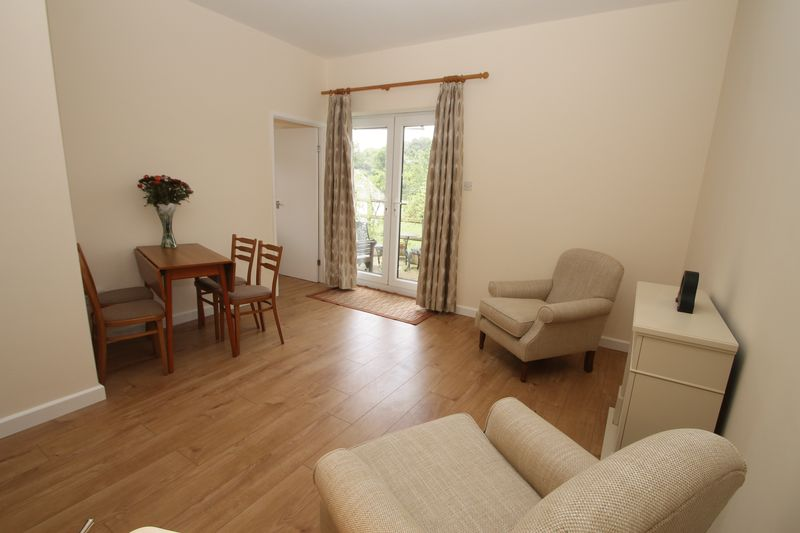 Living room in the annexe