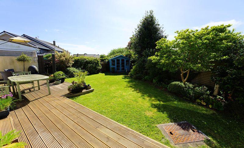 Private sunny garden
