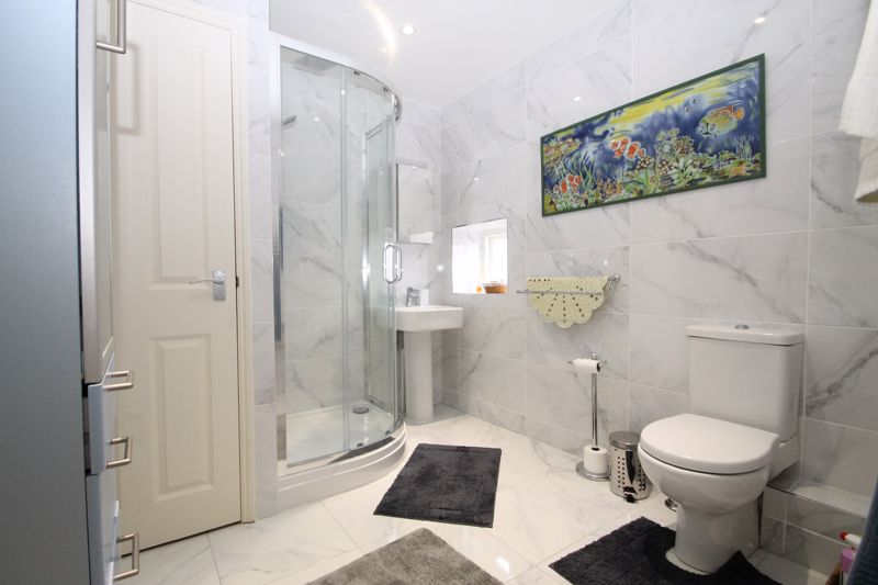 Family shower room (recently re-fitted)