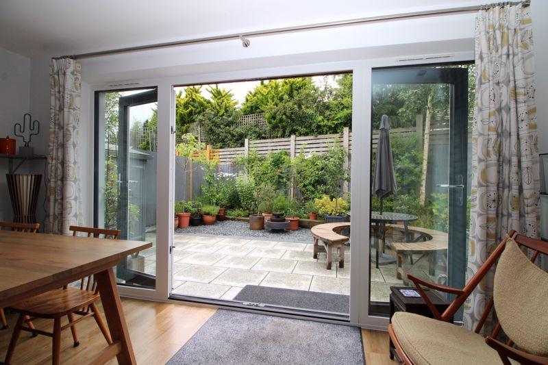 Doors to garden and outdoor entertaining space