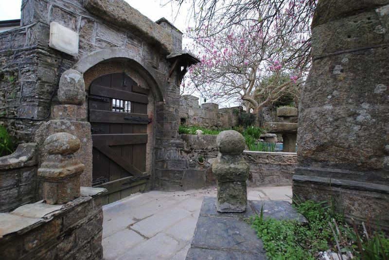 Main feature entrance
