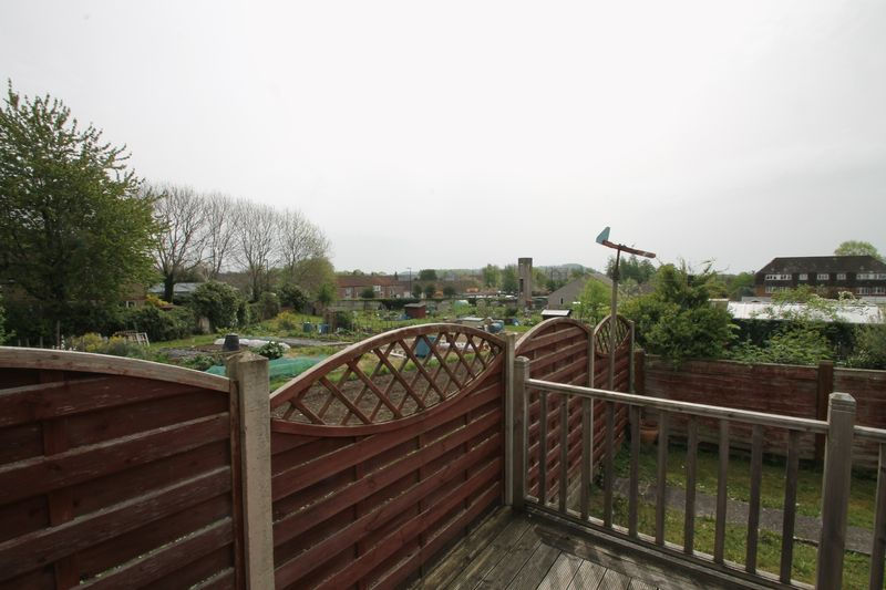 Views over the allotments